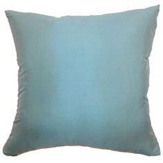Fall in love with this gorgeous turquoise silk throw pillow. This accent pillow features a lovely glowing effect which adds luster to your space. The decor pillow is plush and made from 100% silk fabric. You can add a beautiful finish to your space by combining this square pillow with patterns like florals, ikats, stripes and geometric.Coordinates well with many decor styles and settings. $55.00  #silkpillow       #pillows       #homedecor       #tosspillow   #interiorstyling