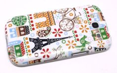 Bicycle Flower Mustache Sign Soft TPU Gel Case Cover for Samsung Galaxy S3 I9300   eBay