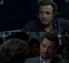 James Caan in Thief (1981) Robert De Niro in Heat (1995)  Dir. Michael Mann