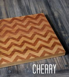 Large Modern Chevron Cutting Board