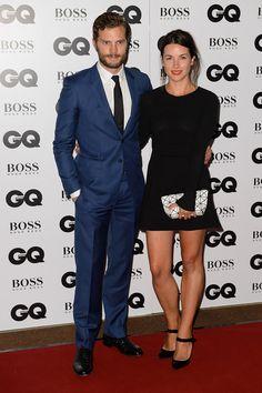 Jamie Dornan y Amelia Warner -Premios GQ