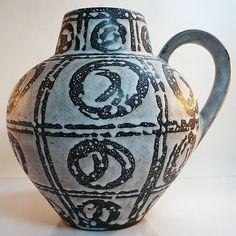 West German Pottery Vase • Carstens