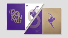 Ballet Jazz Montreal - Contact by Baillat Cardell & fils, via Behance Gym Design, Print Design, Logo Design, Booklet Design, Personalized Stationery, Name Cards, Business Card Logo, Graphic Design Inspiration, Editorial Design