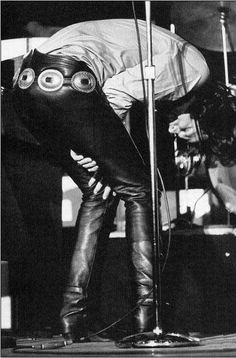 """Jim Morrison at """"Minneapolis Concert Hall"""" 1968 By Mike Berich"""