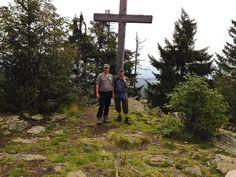 Gipfelkreuz am Siebenstein Berg, Rocks, Hiking, Stones