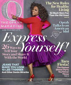 O Magazine Cover, February 2012