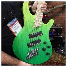 @bassmusicianmag #acaciabass #acaciaguitars #bassguitar #electricbass #custombass #badassbass #bassporn #namm #namm2017 #BassMusicianMag