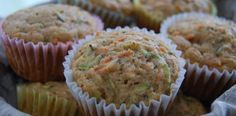 Allergy Free Zucchini Carrot Muffins: This is a great way to sneak in the veggies. I have put icing on these and used them as healthy cupcakes.