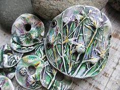Бусины с растительным орнаментом своими руками | Ярмарка Мастеров - ручная работа, handmade
