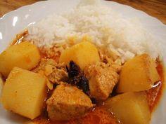 Hähnchencurry / Cà ri gà