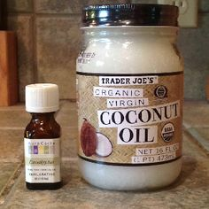 DIY Natural Vicks.  Combine 2 Tbsp coconut oil and about 20 drops eucalyptus essential oil.  Rub onto chest, back, neck and feet of your kiddos.