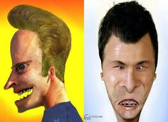 """See how your favorite cartoon characters look like if they exist in real life, i. the """"untooned"""" cartoon characters. Favorite Cartoon Character, Character Art, Mike Judge, Life Pictures, Cartoon Images, Short Film, Cartoon Characters, Movie Tv, Real Life"""