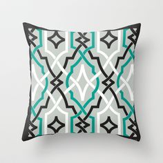 Exactly This is what I want A grey and white pattern and a teal