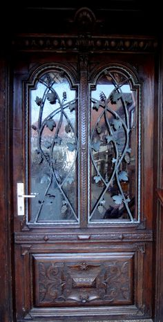 love the subtle heart shape...  /  Harz Germany door
