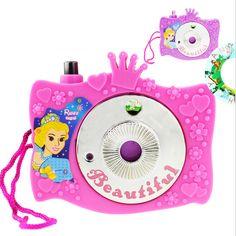 Pendidikan kamera kreatif yang indah putri hadiah ulang tahun mainan pendidikan untuk anak-anak