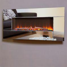 Celsi Flamonik Mirror Hang-on-the-Wall Electric Fire