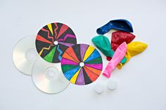 hello, Wonderful - MAKE A CD BALLOON HOVERCRAFT DESIGNED WITH KIDS' ART