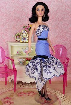 French Quarter for Silkstone Barbie Poppy Parker & by HankieChic