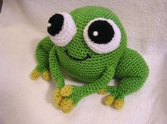 Pdf Crochet Pattern AMIGURUMI PUDGY FROG by bvoe668 on Etsy