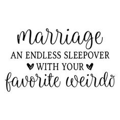 Silhouette Design Store: Marriage An Endless Sleepover Happy Marriage, Marriage Advice, Love And Marriage, Relationship Tips, Silhouette Cameo Projects, Silhouette Design, Married Life, Married Men, Cricut Design