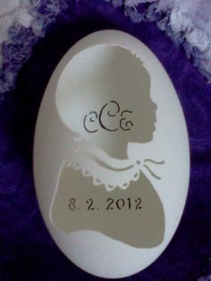 Gift for a New Baby Stunning Keepsake Ornament by CraftyCarvings, $44.95