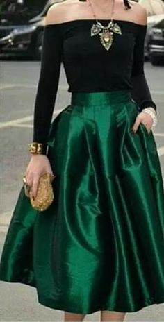 24974ec8b0 Dark Green Midi Skirts For Women High Waisted Ruched Satin Prom Dresses Tea  Length Petite Cocktail Party Skirts Simple Women Formal Outfits Wedding  Guest ...