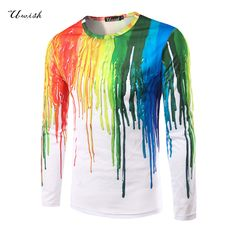 top fashion 2017 mens t shirt long tee shirt homme fitness tops & tees casual t-shirts camisetas 3d printed brand clothing