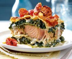 Das Rezept für Lachs-Spinat-Lasagne und weitere kostenlose Rezepte auf LECKER.de