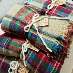 Plaid blanket scarf / www.sjiek-sjaals.nl