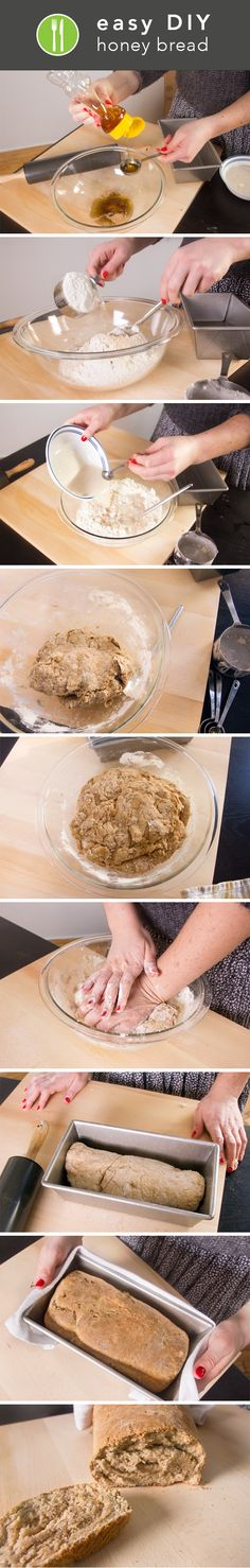 How to Make Your Own Honey-Wheat Bread -Posted by Sophia Breene on January 28, 2014