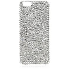 Silver Crystal Bubble iPhone 6 Case (125 ZAR) ❤ liked on Polyvore featuring accessories and tech accessories