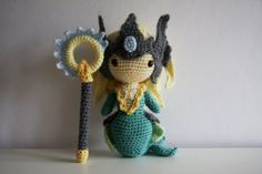 League of Legends Classic Nami Amigurumi by LittleForestWorkshop, $70.00