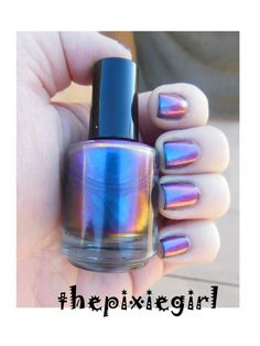 Chromaflair Color Shifting Morphing Multichrome by thepixiegirl, $4.50.  Am I gutsy enough to wear this?