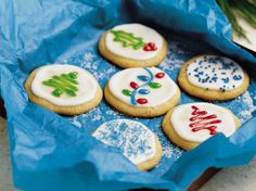 Ultimate Refrigerator Slice cookies with frosting
