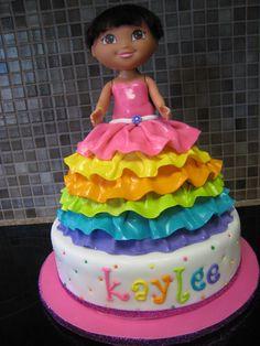 dora dress cake - Google Search