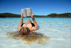Mermaid at lake McKenzie (by Martin Pettersson) Coast Australia, Queensland Australia, Fraser Island, Take A Break, Romantic Getaway, Virtual World, East Coast, Book Lovers, Places To See