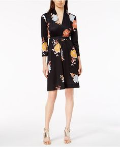 6260b62c33e French Connection Shikoku Printed Jersey Dress Women - Dresses - Macy s