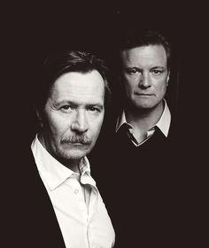 Gary Oldman & Colin Firth