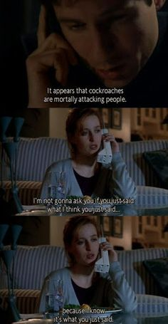 Mulder and Scully Quotes |