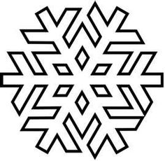 snowflake template 1 free printable coloring pages szablony
