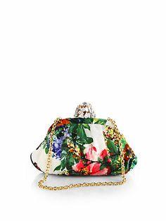 c2664a0c126f Dolce   Gabbana - Floral Brocade Clutch