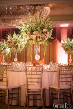 Beautiful mix of pastel hues for this tall centerpiece...found exactly what I had visioned.