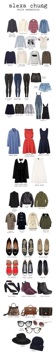 Alexa Chung essentials