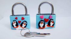 Loving padlock by Danyelahandmade on Etsy