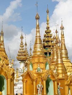 Shwedagon Pagoda — Yangon, Myanmar