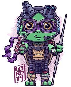 #TMNTMovie #donatello my favorite turtle!!