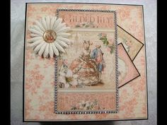 """Country Craft Creations Design Team Project Graphic 45 """"Gilded Lily"""" Mini Album - YouTube"""