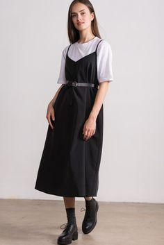 Фото - Платье-комбинация Черешня «Дэйзи» графитового цвета, , 300x450