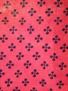 Jax fabric, Herman Miller 1955 < I want to paint this design on a rug. Perhaps white on a sisal rug under my dining table?