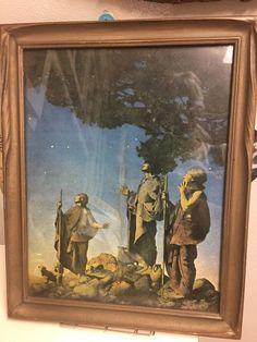 Rare Mayfield Parrish Christmas Art Print Original   | eBay